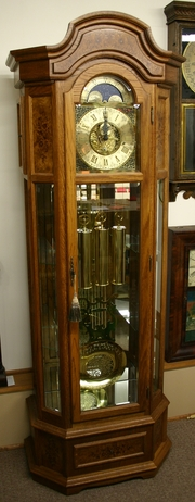 180_curio_3 clock repair, master clock repair columbus, oh owner's manual